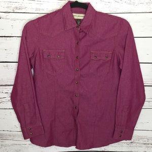 Bit & Bridle snap front shirt